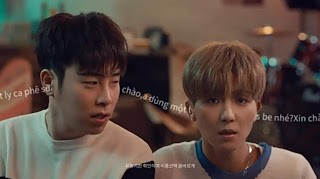 WINNER Mino & P.O CF for Lotte Chilsung