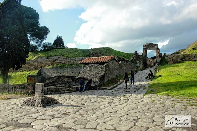 Pompeje Włochy Neapol