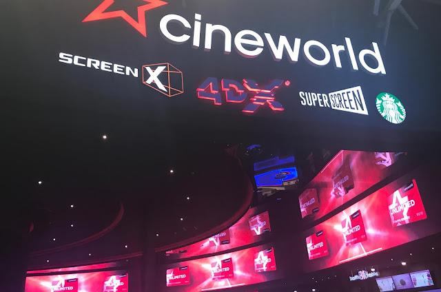 Cineworld entrance Newcastle