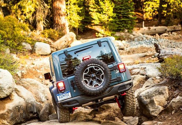 Jeep Wrangler Rubicon Edition Rear