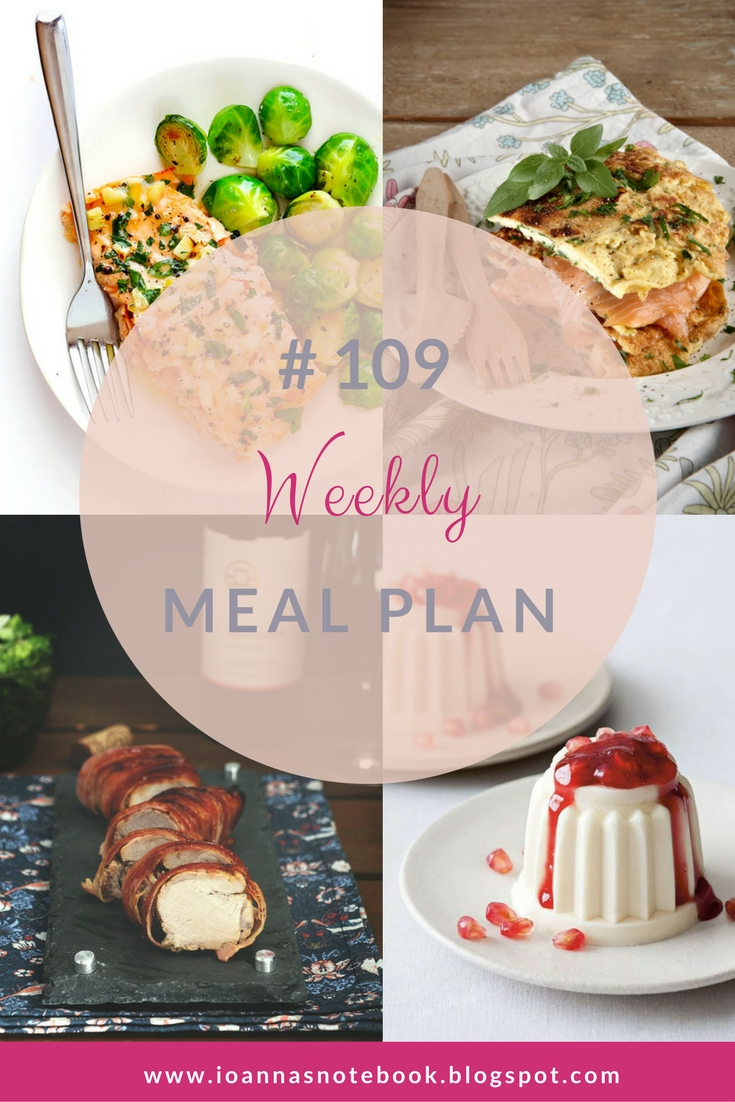 Brand new Weekly Meal Plan loaded with delicious recipes to help you plan out your week! | Ioanna's Notebook