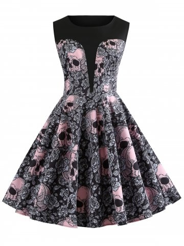 https://www.rosegal.com/vintage-dresses/vintage-skull-and-floral-print-a-line-dress-2330978.html?lkid=14637015