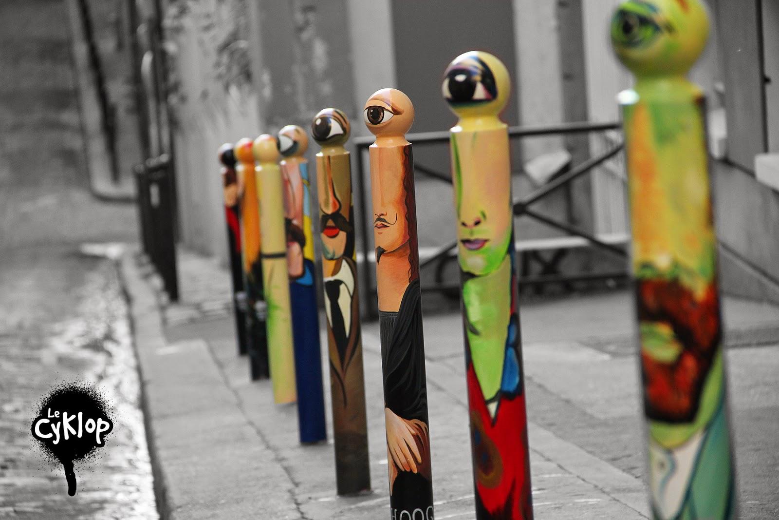 News letter quand le street art sort des murs for Portent 4 letters