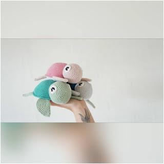 patron amigurumi tortuga crochet y amigurumis