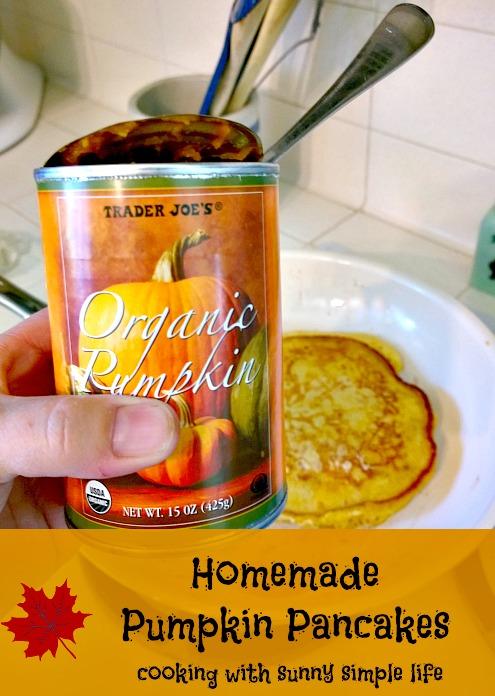 pumpkin recipe, pancakes
