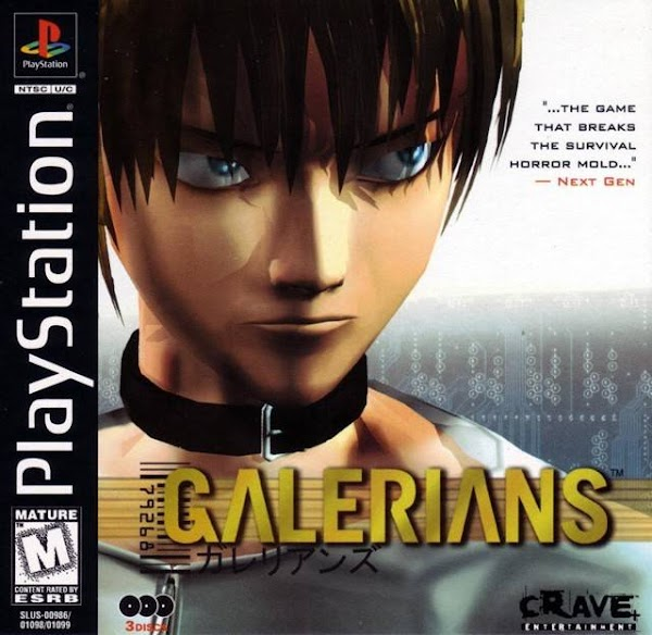 GALERIANS [DISC3OF3] [SLUS-01099]