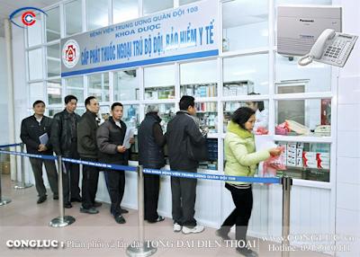 Lắp tổng đài điện thoại bệnh viện tại Hải Phòng