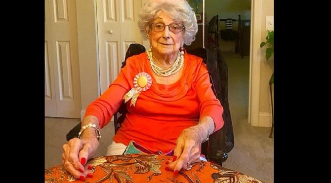 Η 109χρονη γυναίκα λέει το «μυστικό» της μακροζωίας της