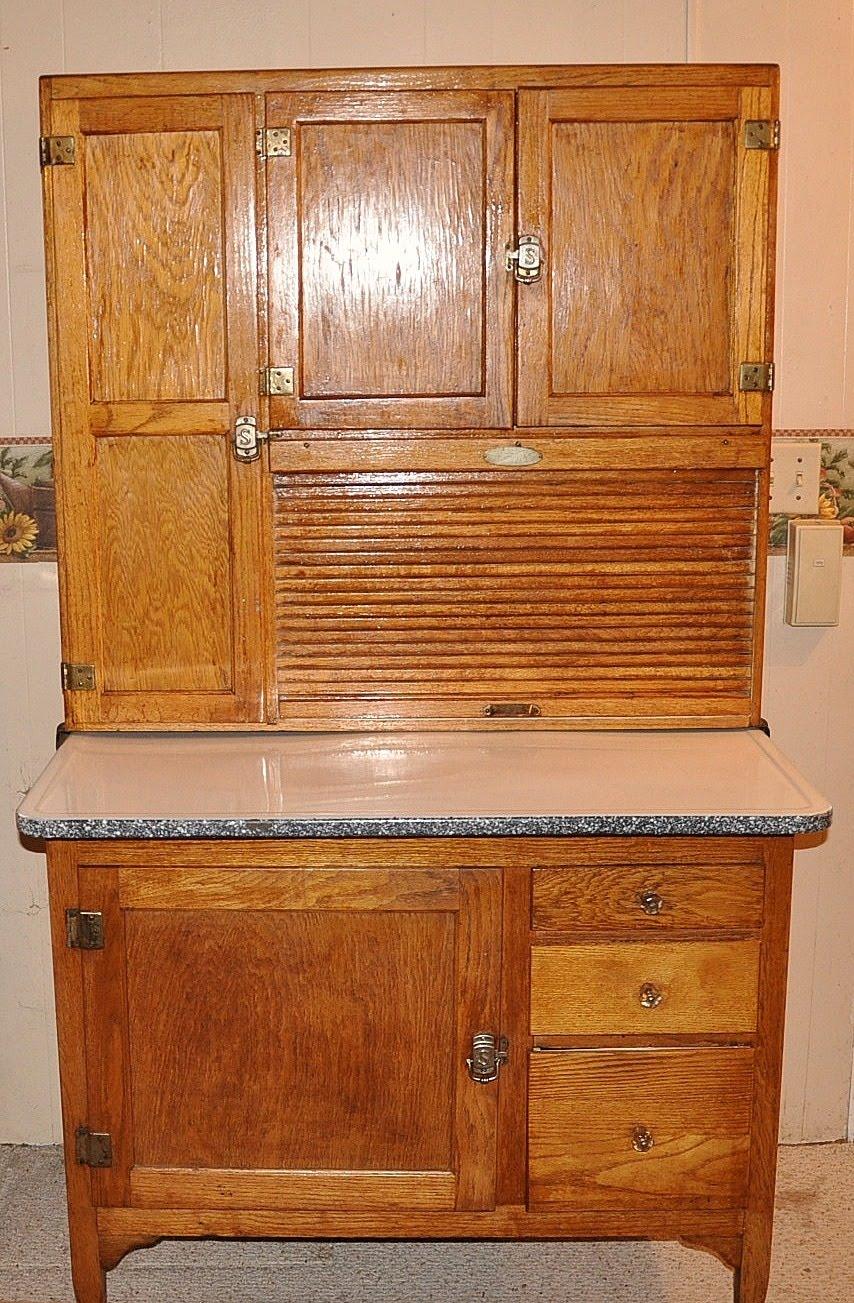 Antique Hoosier Cabinet on Pinterest | Hoosier Cabinet ...