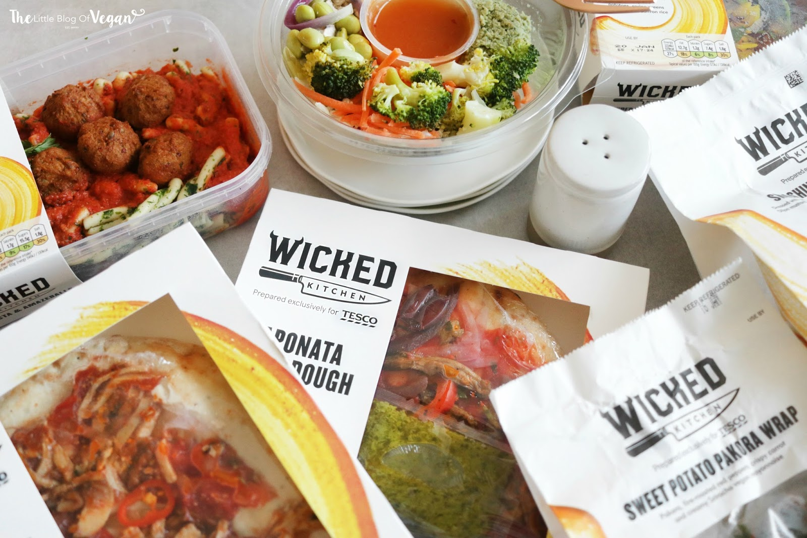 you dont have to be vegan to enjoy tescos wicked kitchen range of food they are packed full of taste so that you are left feeling satisfied - Wicked Kitchen