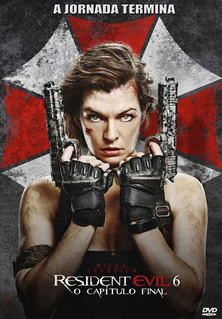 Resident Evil 6: O Capítulo Final Torrent - HDRip 720p Dual Áudio (2017)