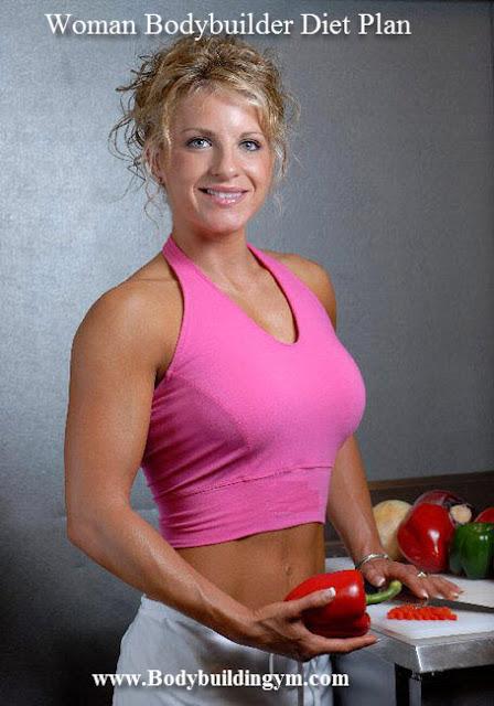 Bodybuilder Woman Diet