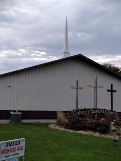 Calvary Baptist Church in Saint Charles, Iowa