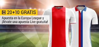 bwin promocion 10 euros Ajax vs Lyon Europa League 3 mayo