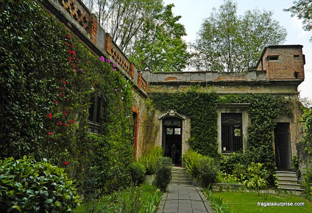 Jardim do Museu Casa de Leon Trotski, Cidade do México