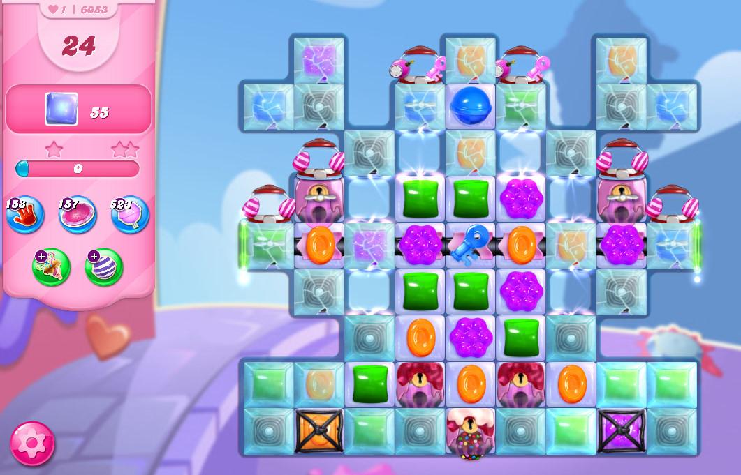Candy Crush Saga level 6053
