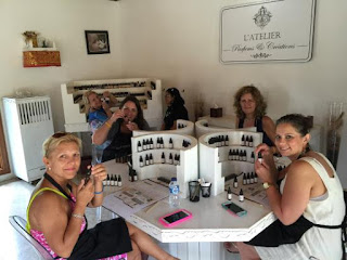 Making your own Perfume Creations at L'Atelier Parfums et Creations
