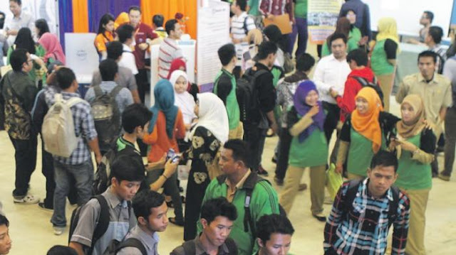 Suasana Kalsel Job Fair 2016