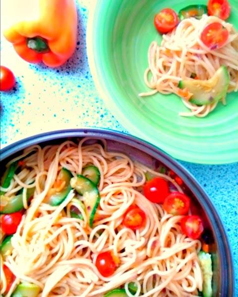 Delicious Zucchini Carbonara