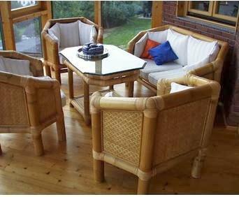 A mi manera hacer sillones lindos con bamb - Sillones de bambu ...
