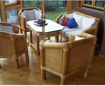 A mi manera hacer sillones lindos con bamb - Muebles de bambu ...