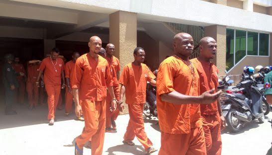 9 Nigerian men accused of dealing drugs from Mountain of Fire church in Cambodia sentenced to 5 to 8 years in prison