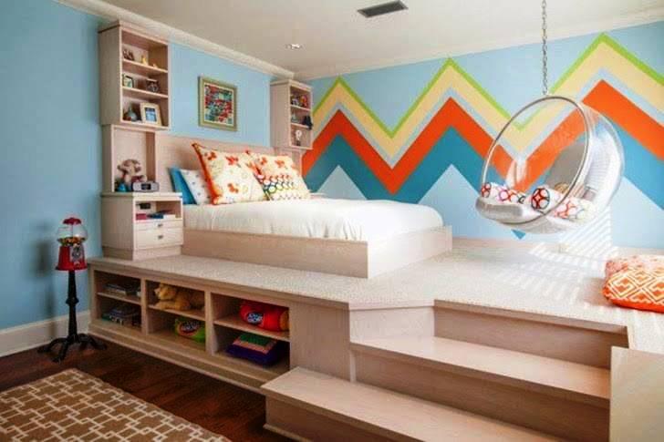 Desain Kamar Tidur Anak Minimalis Modern