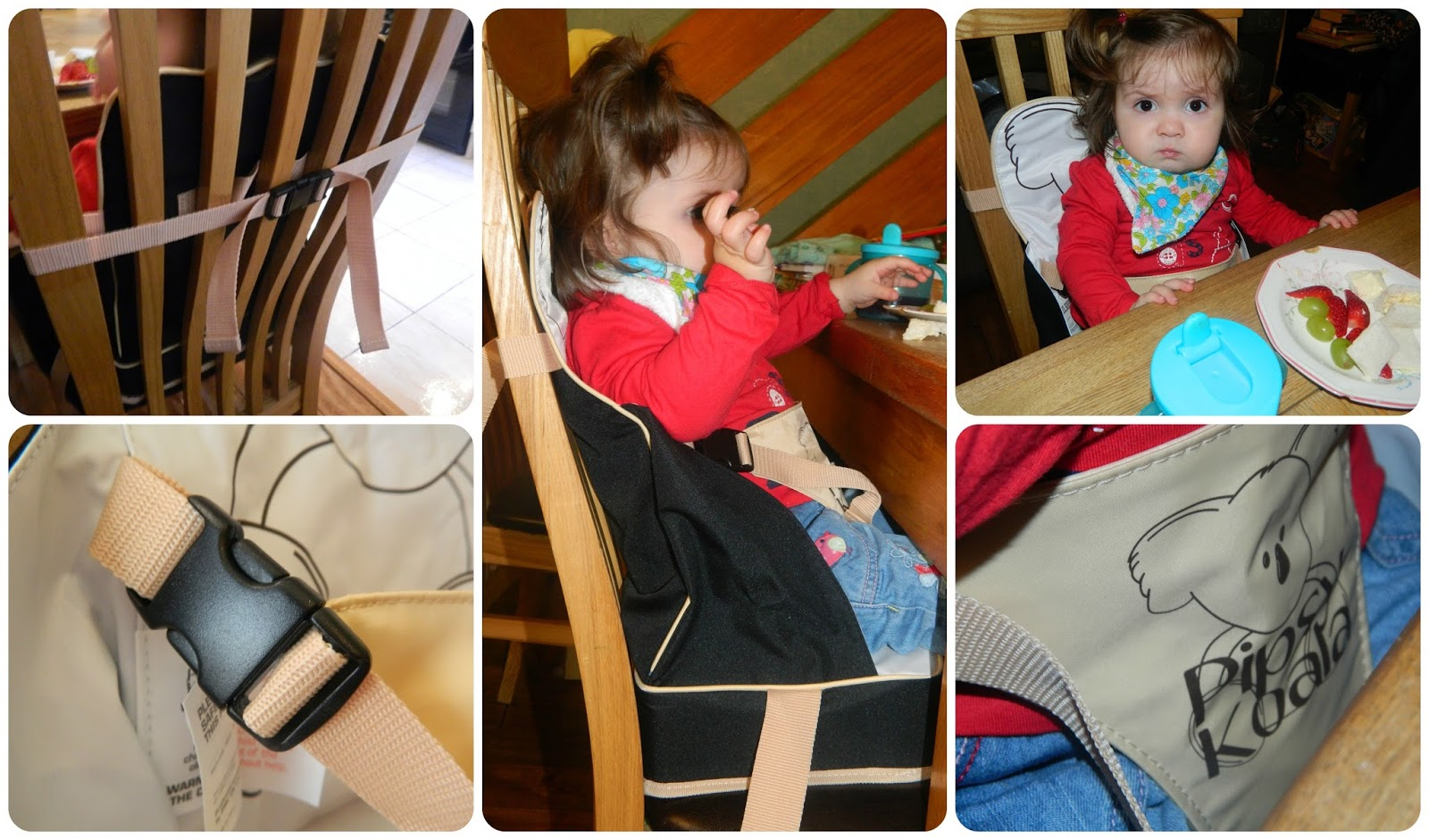 Pipsy Koala On the Go Booster Seat Review with Little Miss