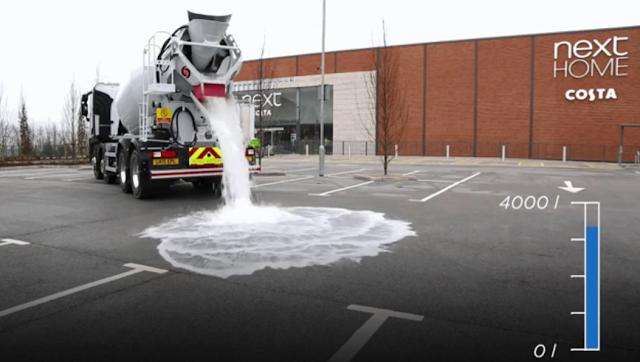 Teknologi Jalan yang Menyerap Air Hujan