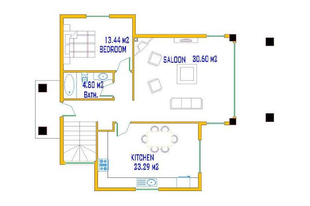 : منازل صغيرة المساحة : منازل