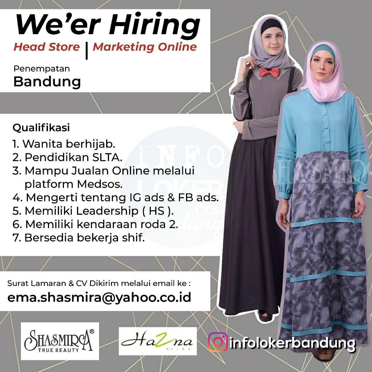 Lowongan Kerja Shasmira True Beauty Bandung Januari 2018