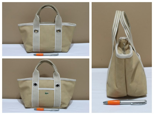 Jual tas tas second bekas branded original murah dari Singapore Original  Authentic dengan harga yang kompetitif. LACOSTE f1eb91310b