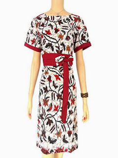 Dress Batik Modern Elegant