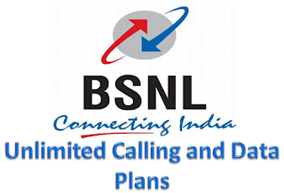 BSNL Unlimited Calling and Data Plans
