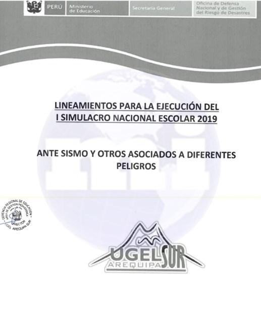 Formatos para Gestión de Riesgos de Desastres 2019