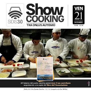 SHOW COOKING AL SIDIS 3.0 TRA RAGAZZI AUTISTICI E CHEF SICILIANI