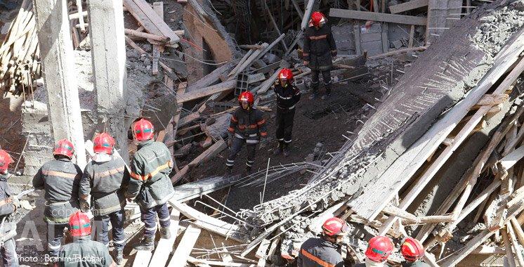 L'effondrement d'un bâtiment à Agadir a fait 1 mort et 4 blessés.