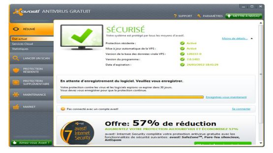 Avast Antivirus 2013 screenshot 3