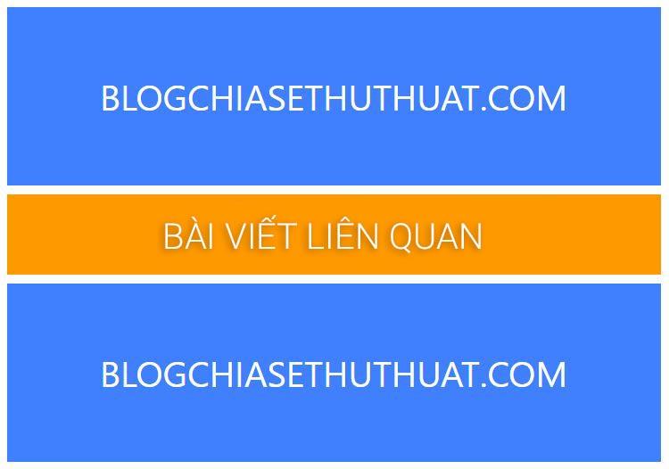 Chèn bài viết liên quan vào giữa bài viết cho Blogspot