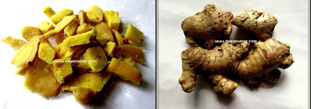 Ginger in Skincare and haircare