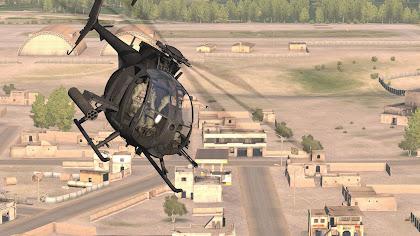 Arma3で正確なAH-6とMH-6を実装するMELB MOD