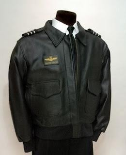 Gambar Jaket Kulit Pilot Keren
