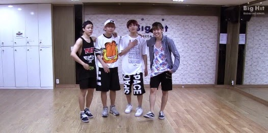 Dance practice bts just one day download