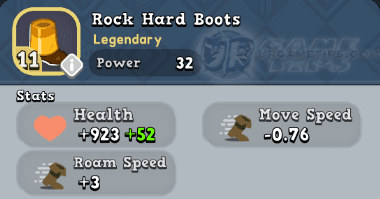 World of Legends Rock Hard Boots