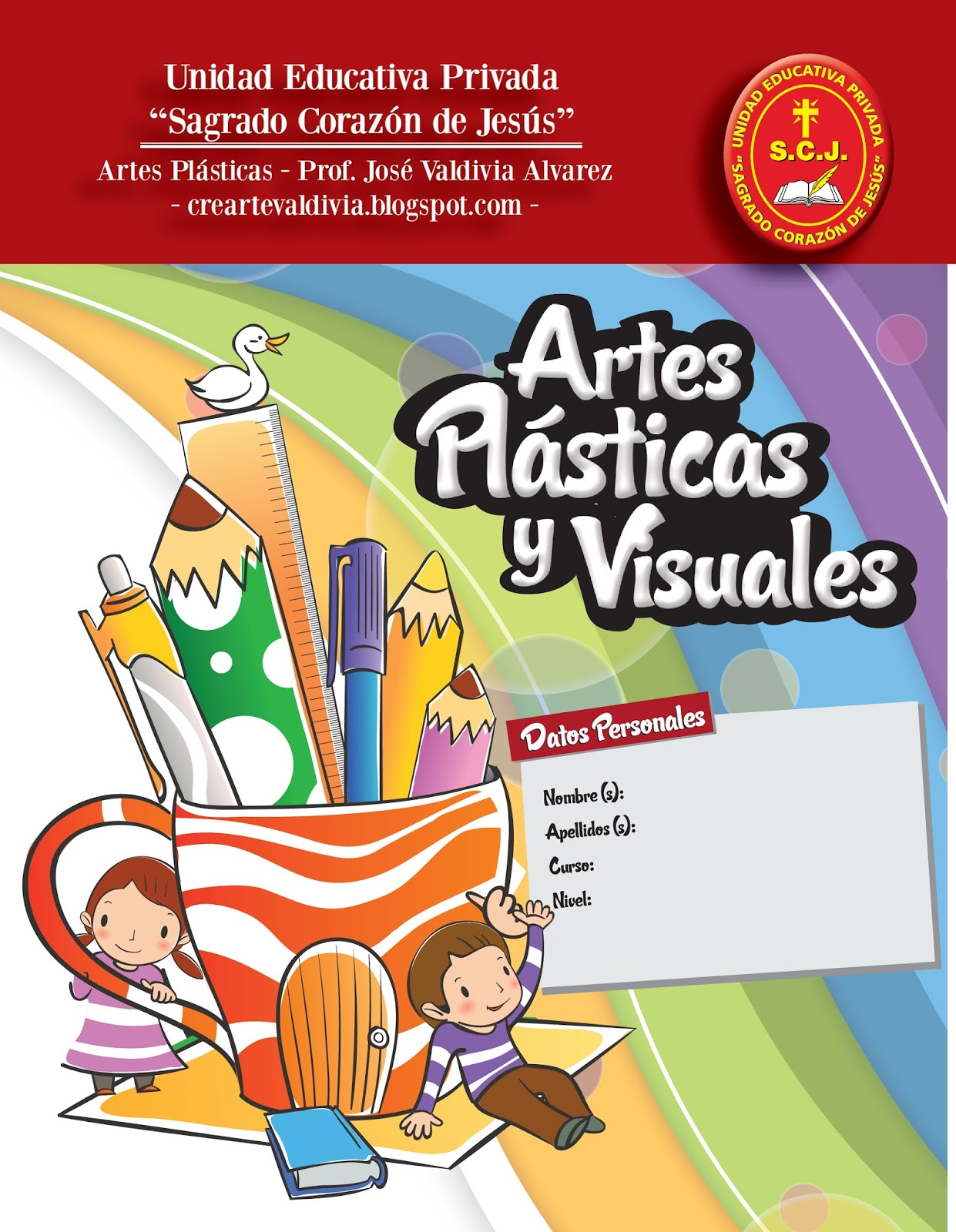 Artes pl sticas for Caratulas de artes plasticas para secundaria