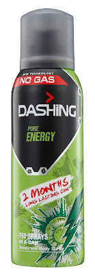 DASHING ADVENTURER 2.0  THE FIRST BREAKTHROUGH INNOVATION IN MALAYSIA-Dashing Deodorant Spray 150ml PURE ENERGY