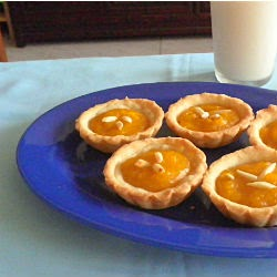 eggless lemon tart recipe @ http://treatntrick.blogspot.com
