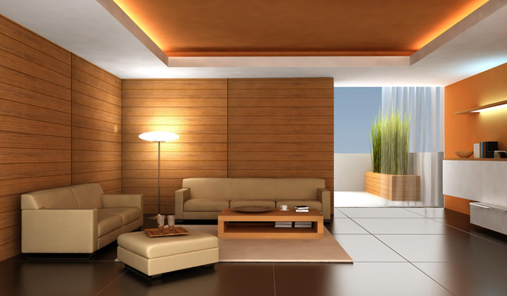 Decorilumina c mo decorar el techo o cielorraso de - Madera para techos interiores ...