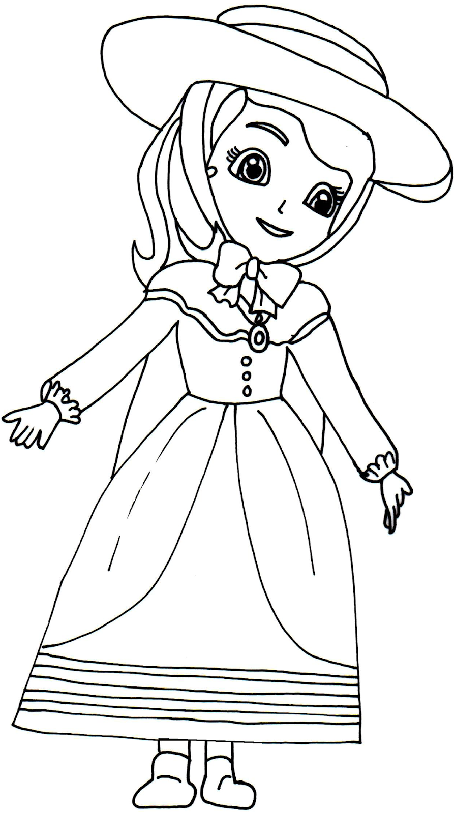 picture relating to Sofia the First Printable Coloring Pages titled sofia the initially printable coloring webpages