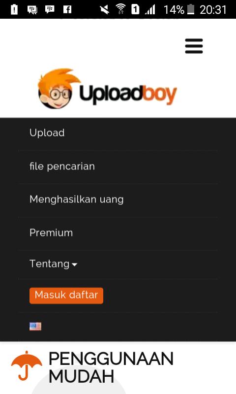 Cara Daftar dan Mendapatkan Uang Dolar Dari UploadBoy Terbaru